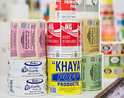 Flexographic Print | label Mate products